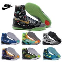 hot summer tops - Nike Hot KOBE IX ELITE perspective Men s high top basketball shoes Original Cheap Best trainers sneakers shoes