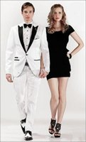 army of brides - hot new design of future bride and groom white wedding dress PROM dress suit jacket pants belt