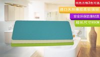 Wholesale 2016 HOT selling Oval rubber bath mats size cm no smell antislip massage mats bathroom pierced safe pad with suction cups fhdz1