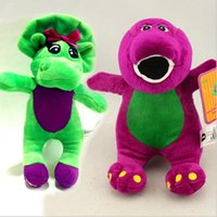 barney puppet - 2016 new arrival cm Barney the Dinosaur Plush toys best gift for childeren High Quality Gift for girl boy education toy