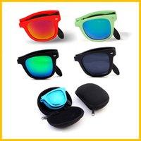 wood planks - WishCart Folding Sport Polarized Wood Raybani With Box Men Women Brand Designer Coating Mirror Sun Glasses Eyewear Eye Sunglasses