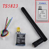 Wholesale 2015 original TS5823 G GHz mW CH Mini FPV wireless audio vedio AV Transmitter for DJI Phantom KM rang