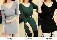 Wholesale Sexy Sweater One piece Sweaters Back Lace Sweater Long Sleeve Sweater Dress Long Sweater Colors