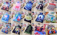 Cheap 20pcs 16 stlys Frozen Minecraft Ninja Turtles Patrol Skull Doctor Who Lego Kids Bedding 3D Bedding Twin Full Queen Hot Sellers