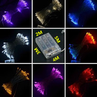 mini string lights - 3XAA Battery M M M M LED String Mini Fairy Lights Battery Power Operated Christmas Strings Festival Strings Party Lights