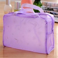 Wholesale Hot Sale colors Waterproof Portable Durable Makeup Bath Cosmetic Toiletry Travel Wash Toothbrush Bag Organizer