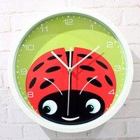 beatles watch - Child cartoon pattern wall clock the beatles clock and watch quartz clock rustic cartoon mute