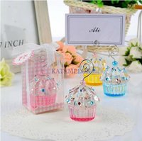 baby names pictures - Crystal Cake Place Card Holder Wedding baby shower party picture name holder frame Color Option
