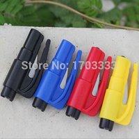 Wholesale 500PCS Keychain Car Emergency Rescue Safety Glass Breaker Hammer Escape Tool DHL Fedex