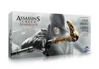 Wholesale Hot sall NECA Assassin s Creed Syndicate Sword Cane Cosplay Weapon Jacob Frye Cane Hidden Blade Boxed PVC Action Figure Model Toy bk021
