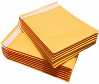 Wholesale 1100pcs Best Quality Kraft Bubble Mailers Padded Envelopes Bags High Quality x160mm inch