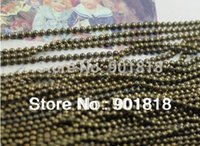 Wholesale 10meterss mm antique bronze gold silver rhodium ball chains Fitting DIY necklace bracelets F680