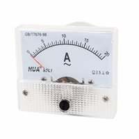 ac pics - AC A Rectangle Analog Panel Ammeter Gauge L1 A PICS