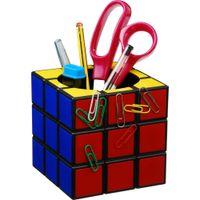 Wholesale Rubik s Cube Desk Tidy Retro Cube Magnetic Desk Tidy Classic Magic Box Pen Holder Stationery Storage