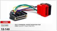 Wholesale CARAV ISO Radio Adapter for FORD Wire Wiring F Harness Connector Lead Loom Cable Plug Adaptor Stereo