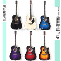 acoustic guitar deals - 41 inch round exercise for beginners acoustic guitar playing and singing guitar cutaway send defective parts deal price
