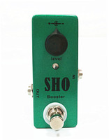 Wholesale Mini SHO Booster Guitar Effect Pedal And True Bypass