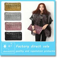Wholesale 2016 New Fashion Style Sparkle Spangle Ladies clutch purse evening bags Ladies handbags totes Free DHL