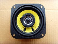 audio speaker cover - 2pcs quot inch Ohm W Coaxial Car horn Speaker Loudspeaker With net cover