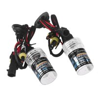 Wholesale 2pcs W K HID Xenon H1 Replacement Bulb Lamps Light Conversion Car Kit Head Lamp Lights