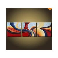 abstract art uk - Frameless draw Huge Panel Abstract Art Large Modern Set Oil Paintings UK color