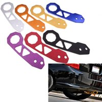 Wholesale Aluminum Alloy Unversal Auto Car Rear Tow Hook Towing Bars for BMW for Toyato for All Cars Auto Trailer Ring order lt no track