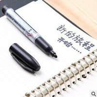 Wholesale B416 black permanent marker pen indelible mark bulk wearable marker