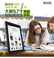 Wholesale ONYX BOOX Professional Handwriting PDF Comic Ereader M96 inch e ink e books reader Electromgnetic Touch GB Android WiFi