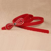 Wholesale 2014 new ladies Fashion all match bow candy color strap women s belt female decoration belly chain brand belts for women