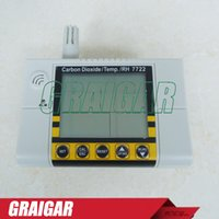 Wholesale AZ7722 handheld infrared CO detector with relay temperature and humidity testing gas detector