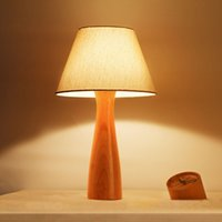 beech lamp table - Pure Handcrafted Natural Beech Desk Light Japanese Soft Lights Decor E27 Adjustable Table Lamp Bedroom Study Foyer Lighting order lt no trac
