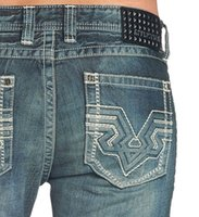 Wholesale Special Genuine American big AFFLICTION new men jeans yards SKU110RS072