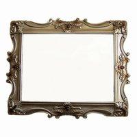 Wholesale Deluxe Continental bathroom mirror hanging mirror wall mirror decorative mirror entrance luxury home decorative wa