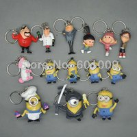 Wholesale EMS New Despicable Me Character Minions Figure Doll Toy CM Keychain