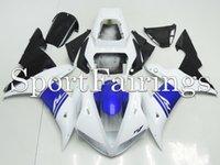 Wholesale Fairings For Yamaha YZF1000 YZF R1 Plastics ABS Fairings Motorcycle Fairing Kit Bodywork Cowling White Blue Black New