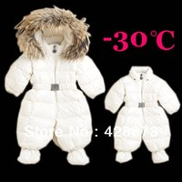 baby white gloves - Hot Newborn Baby Snow Wear Warm Down Coats Winter Infant Outerwear Baby Down Jumpsuit with Gloves and Feet set