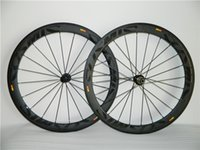 Wholesale Cosmic Wheels MM Carbon Road Bike Wheels Matte Rim Glossy Decal Twill Carbon Bicycle Wheelset Gift