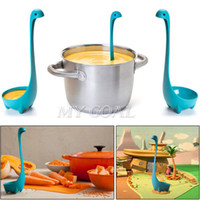 Wholesale Nessie Kitchen Bar Gifts Home Soup Ladle Cool Design Loch Ness Monster Spoons