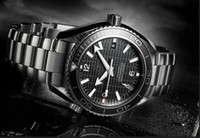 Casual limited edition - NEW mens James Bond CERAMIC BEZEL TRANSPARENT GLASS BACK sky fall Limited Edition Automatic Movement men s watch men watches wristwatch