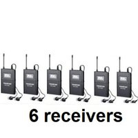 audio guide - Takstar WTG WTG UHF Wireless audio system for Tourist guide pcsReceiver pcsIn Ear Earphone Not Include Transmitter