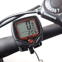 Wholesale LCD Bike Bicycle Cycling Computer Odometer Speedometer Wireless Heart Rate Monitor Tester Chest Strap Bicycle Accessories WG271