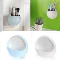 Wholesale Wall Mounted Toothbrush Holder Wall sucked Cute Cups For Toothpaste Small Bather Accessory Soap Holder Kitchen Bathroom Stuff