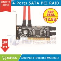 ata pci cards - Brand New Port SATA PCI CONTROLLER RAID CARD SATA SERIAL ATA PCI CONTROLLER RAID I O CARD PC Cable