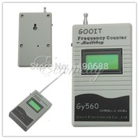 Wholesale Ce Certificated Mini GY560 Frequency Counter Mini Handhold Meter for Two Way Radio Transceiver GSM MHz GHz