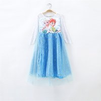 Wholesale China Blue Lace Dress Wholesale - The new 2015 Baby & Kids Clothing frozen children dress hot sale Children's Dresses skirt tutu skirt China factory outlet Fashionable dres