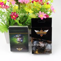 Wholesale Hot LOL Game League of Legends Poker Playing Card Style Animation Around Games Poker Card Games