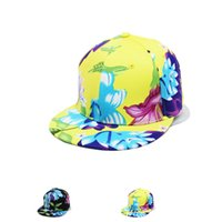Wholesale Fashion cap autumn and winter New hats winter hat lady hat fashion wave of people Floral casual baseball cap flat along baseball cap