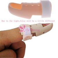 Wholesale New Plastic Mallet DIP Finger Supports Brace Splint Joint Protection Injury