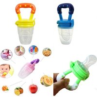Wholesale Hot Sales Safe Baby Kids Infant Nipple Pacifiers Supplies Food Milk Fruits Feeding Tools Silicone Plastic CX355