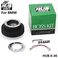 Wholesale HUB Black Racing Steering Wheel Hub Adapter Boss Kit for BMW E46 High Quality Car Racing
